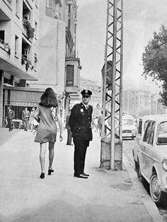 Zaragoza, Paseo de General Mola ( Paseo Sagasta ) , año 1968 , la cafetería Imperia todavía estuvo en servicio hasta los 80. Fotografía del libro Zaragoza Viva .