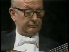 Narciso Yepes performs Romance Anonimo.  This is the piece many people learn as a beginner in guitar music. My guitar teacher was big on Yepes over Segovia. I loved Yepes playing Fernando Sor's Estudio.