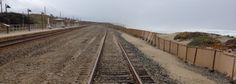 J.E.Barnard- Train tracks out at Surf Beach, Lompoc, CA 93436.
