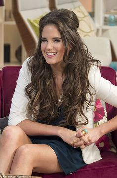 Steal Her Style: Binky Felstead - Hair Extensions News Binky Felstead Hair, Celebrity Hairstyles, Cute Hairstyles, Made In Chelsea Binky, Louise Thompson, Old Hollywood Glam, Celebrity Makeup, Girl Crushes, Her Style