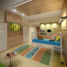 Cute pediatric treatment room. #Pediatric