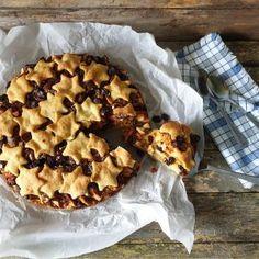 Horn med ost og skinke - Fra mitt kjøkken Apple Pie, Muffin, Baking, Breakfast, Horn, Desserts, Morning Coffee, Tailgate Desserts, Deserts