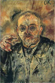 Paul Scheebart by Oskar Kokoschka Gustav Klimt, Gustav Mahler, Max Beckmann, Franz Marc, Kurt Schwitters, Paul Klee, Drawing Artist, Painting & Drawing, Art Pictures