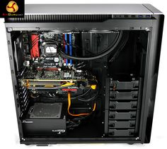 Seasonic Platinum 1200 in an Antec 380 case - nice fit! (KitGuru, March, 2014)