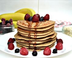 Pancake Day Recipe: Healthy Banana Oat Pancake