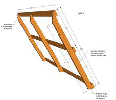 Ana White | A Frame Chicken Coop - DIY Projects