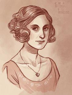 Edith Crawley by firstfruits.deviantart.com on @deviantART