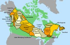First Nations - Subarctic Peoples in Canada Aboriginal Education, Indigenous Education, Aboriginal People, Cree Indians, American Indians, World Map With Countries, Native American Photos, Canadian History, Teaching Social Studies