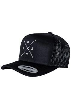 DEAD™ LOGO TRUCKER – Dead Reckoning Brand Plastic Clips, Baseball Hats, Logos, Accessories, Baseball Caps, Baseball Hat, A Logo, Legos