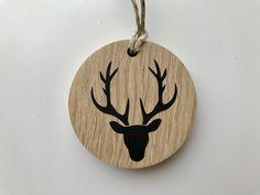 Décoration de noël en bois (chêne)