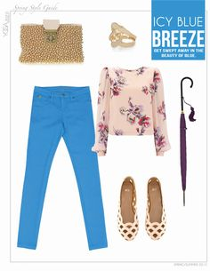 Style inspiration: Icy Blue Breeze