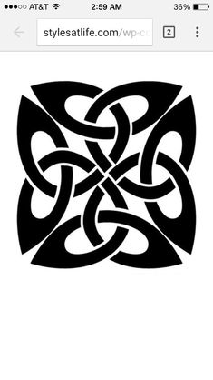 Dara Celtic Knot  Resembles roots of an oak tree Stands for utmost strength and stability   next tattoo doe