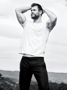 Bigger Than The Walls That Hide Us (marvelheroes: Chris Hemsworth photographed by...)