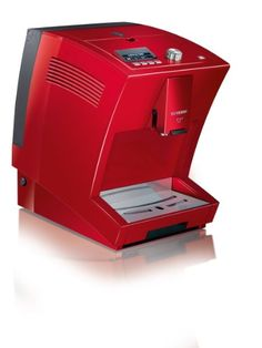 Severin S2 + KV8025 One Touch Automatic Coffee Machine Red Espresso - http://coffeemakerwithgrinder.hzhtlawyer.com/severin-s2-kv8025-one-touch-automatic-coffee-machine-red-espresso/