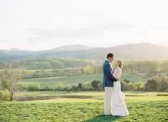 A rustic Pippin Hill Farm And Vineyard wedding set on a quiet Virginia hilltop, with a preppy navy and yellow color palette. Wedding Groom, Wedding Sets, Bride Groom, Charlottesville, Vineyard Wedding, Preppy, Wedding Photography, Bridal, Couple Photos