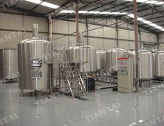 2000L steam heated microbrewery brewhouse installed in chengdu china