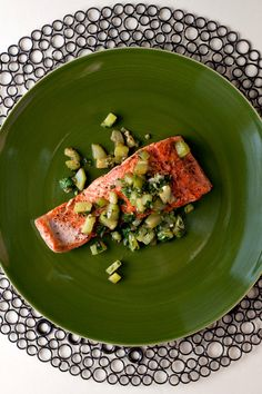 NYT Cooking: A gorgeous salmon fillet needs little more than a sprinkling of salt and pepper and a few minutes of gentle sautéeing in melted butter. You could stop there and serve the fish with salad and a crusty piece of bread. Or you could go one quick step further and add minced garlic, chopped cucumber and dill to the pan. The cucumber turns nutty in the pan's brown but...