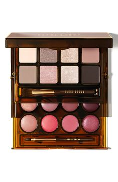 Bobbi Brown Deluxe Lip & Eye Palette Beauty & Cosmetics - All Makeup - Palettes, Sets & Kits - Bloomingdale's Make Up Palette, Lip Palette, Bobbi Brown Palette, Beauty Make-up, Beauty Hacks, Hair Beauty, Luxury Beauty, Beauty Tips, Love Makeup