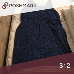 🎉FLASH SALE🎉 Black/Blue business dress Black/Blue business dress. Worn several times, great condition. Pockets on each side. Size 2X. Mossimo Supply Co Dresses