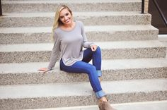 Shop DottieCouture.com to have the perfect Fall Fashion Style - Tunics, denim, vests, fall booties! Always free shipping ☺