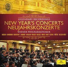 NEW YEAR'S CONCERTS  /  Wiener Philharmoniker - Deutsche Grammophon