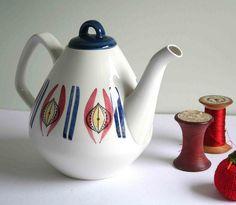 Rorstrand Tea Pot.  Very retro looking.