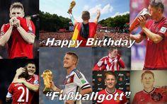 Happy 31 Birthday, Bastian Schweinsteiger!