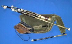 Uilleann Pipes. My favorite kind of bagpipes. Also played in Riverdance by Cillian Vallely, who plays traditional Irish.