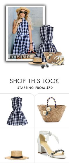 """""""#821 - Gingham Style"""" by lilmissmegan ❤ liked on Polyvore featuring Chicwish, Kayu, Janessa Leone, Alexandre Birman, GetTheLook, blogger, SpringStyle, gingham and blogstyle"""
