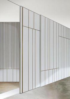 Doors, Wall Panels & Cabinets - Doors - Sliding Doors - Line Sliding Door Design, Sliding Wall, Sliding Closet Doors, Interior Barn Doors, Interior Walls, Interior Shop, Hidden Doors In Walls, Hanging Barn Doors, Wall Cladding