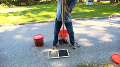 Pros using hot asphalt do the best, most permanent driveway repairs, but not every crack or pothole need's the pricey attention of a paving company. We looked at seven popular blacktop patch products and found two to consider for the toughest driveway repair jobs.