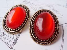 Brincos Vintage Vermelho R$23.00
