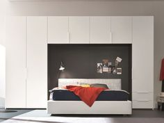 Pont de lit avec tiroirs Collection Style by SMA Mobili