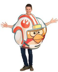 Angry Birds Star Wars X Wing Bird Mens Costume #TrendingCostumes #Halloween2013