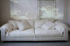 Buy a design sofa conveniently online in the Connox shop! Living Room Sofa, Living Room Furniture, Living Room Decor, Sofa Design, Interior Design, Home Decor Furniture, Cool Furniture, Deep Couch, Sofas