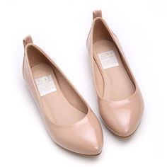 nude flats are a must