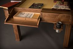 Vizier - Transforming gaming/dining table? yes please.