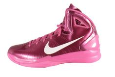 new concept 75bcc 60af4 cancer awareness nike shoes   Nike Pink Air Max Hyper Dunk 2010 Breast  Cancer Awareness High