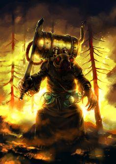Skaven Warlock Engineer: Roasted rat by fgmy76 on DeviantArt