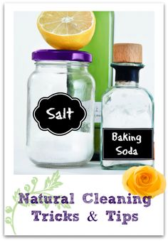 Cleaning: Eco-Friendly DIY Natural Cleaning Recipes and Tips - simple ways to clean your home with products from your pantry. They work!