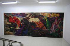 Pintura mural, pintura mural Madrid, pintura mural espacio publico