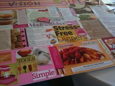 Vision board ideas from Savvy Blogging