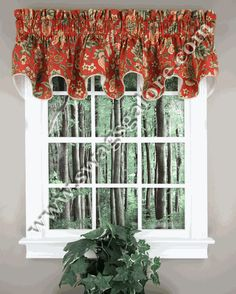 Imperial Dress Duchess Filler Valance – Red. $25 while on sale.