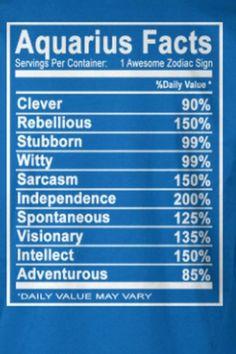 Aquarius Facts #astrology