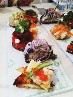 "Royal Smushi at ""The Royal Café"" for our #Blognhagen experience in Copenhagen #food"
