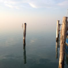 View from Sant'Antonio, Pellestrina island. One of my fav islands in Venice, Italy.