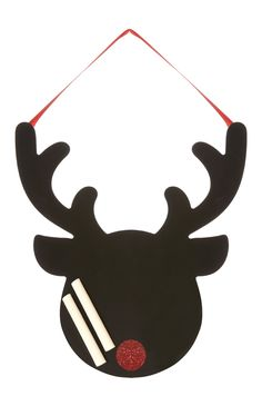 Primark - Reindeer Xmas Chalkboard