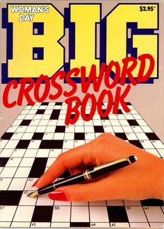 The first ever BIG Crossword magazine, produced in conjunction with Woman's Day, 1985