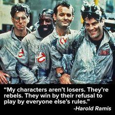 Harold Ramis (Egon) quote