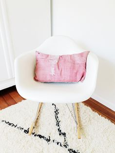 modernica shell chair giveaway on the blog this week - any color/any style you pick! / sfgirlbybay